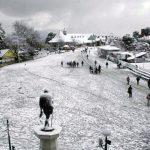 Snow-white Shimla